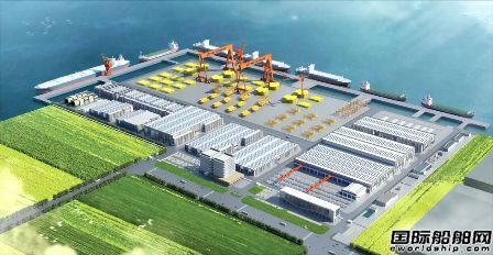 海油工程打造中国首个海工装备智能制造基地
