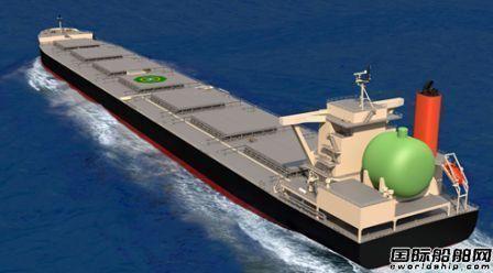 日本船企将建造全球首批LNG动力大型煤炭运输船