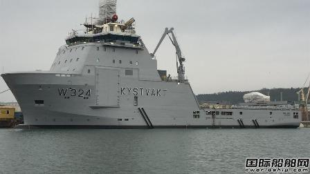 2艘中国船厂建造PSV成功改装成挪威巡逻舰