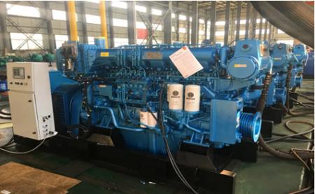潍柴重机批量交付170系列船电机组