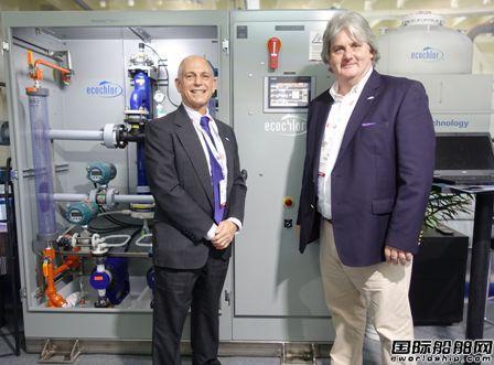 Ecochlor:做最可靠的压载水处理系统专家