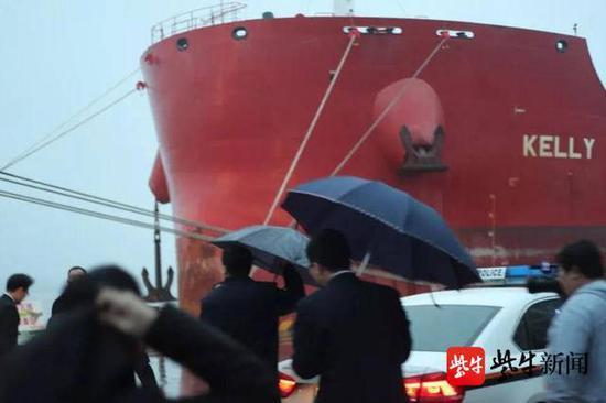 南京海事法院完成首次扣船因货物受损400万美元