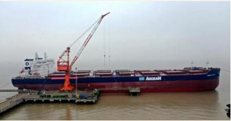 舟山中远海运重工交付2020年首艘新造船