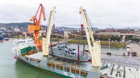 江龙船艇交付尼日利亚批量铝合金超高速巡逻船