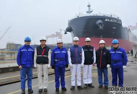 扬子江船业2020年首船出坞