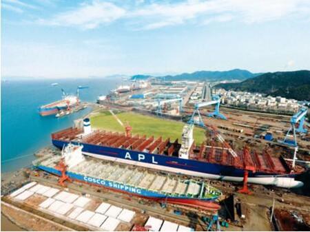 舟山中远海运重工全速推进脱硫设备改装效率