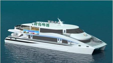 无锡东方中标青岛舒适型双体观光旅游船项目