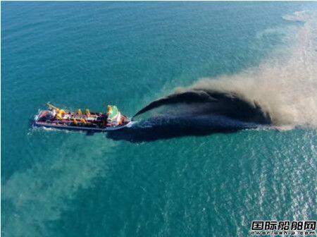 黄埔文冲建造国内首艘双速耙吸式挖泥船完成挖泥试验