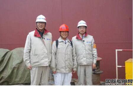 外高桥造船为福茂建造首制21万吨散货船试航凯旋