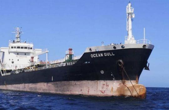 """""""Ocean Gull""""轮在马来西亚遭扣船上有八名中国人"""