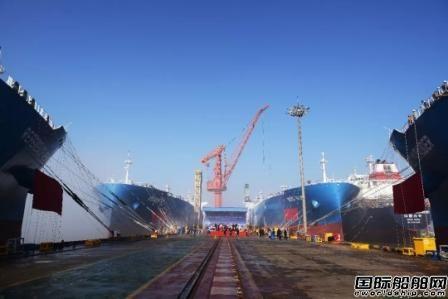 江南造船4艘84000方VLGC同日命名