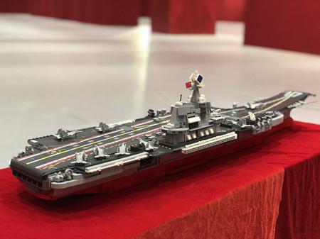 中国首艘国产航母山东舰文创产品发布
