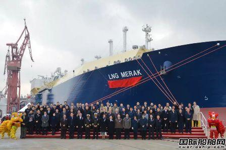 提前3月!沪东中华交付亚马尔项目第2艘LNG船