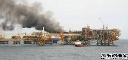 墨西哥国油1座海上平台起火3人受伤