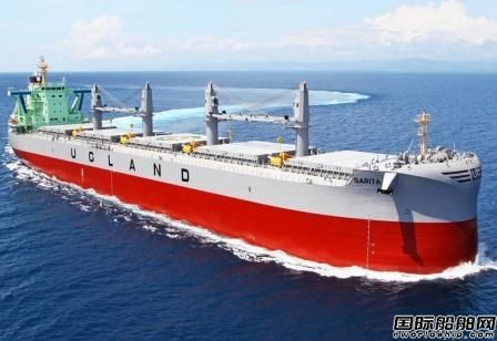 """常石造船交付第500艘""""TESS""""系列散货船"""
