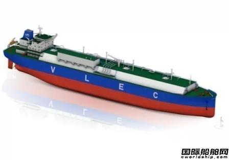 江南造船签约建造2艘世界最大VLEC