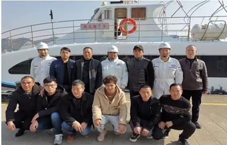 """中国船级社完成""""渔光曲7号""""高速客船NSMC初审"""