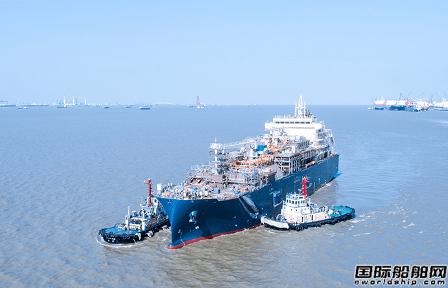 沪东中华建造全球最大LNG加注船完成海试