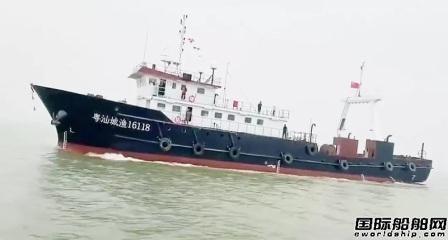 河柴重工气体机首次作为LNG动力拖网渔船主机