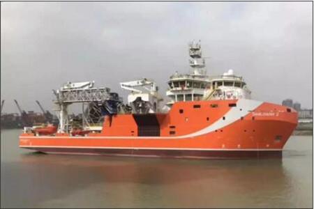 广东中远海运重工深海原油中转船交付开航