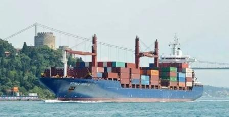 阳明海运一艘事故船遭土耳其扣押