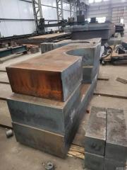 Q355B 430mm钢板切割轴承座