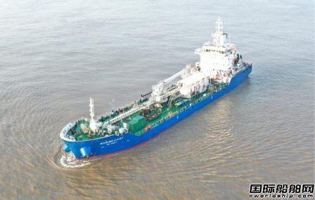 吉宝南通船厂交付新加坡首艘LNG动力供油船