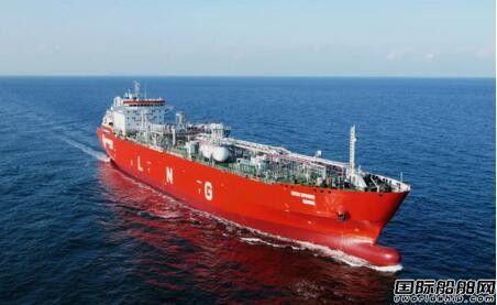 大连中远海运重工28000方LNG船高质量完成气试