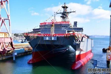 三井E&S造船建造日本第三艘响级声学测量船下水