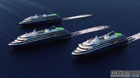 Mystic Cruises订造4艘极地探险邮船