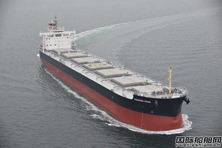常石造船交付日本邮船一艘煤炭运输船
