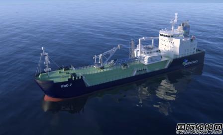 现代尾浦造船获Probunkers两艘LNG供气船意向合同