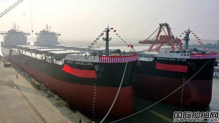 再交五船!扬子江船业迎来新年交船开门红