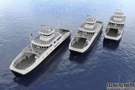 NES为挪威Fjord1公司3艘新造车客渡船升级电力系统