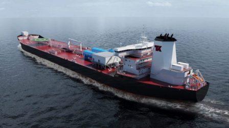 瓦锡兰助力全球首艘双燃料穿梭油船