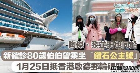 确诊肺炎病例!邮轮公司逃离中国市场