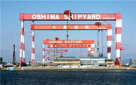 过去一年,日本船舶工业过得如何?