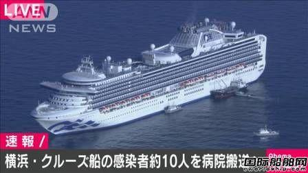 """10人确诊!这艘""""疫船""""全船3800人海上隔离"""