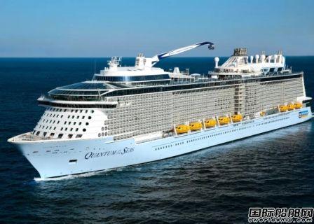 皇家加勒比或将取消更多中国航次业绩下调