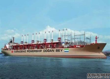 Karpowership和几内亚签约提供一艘发电船