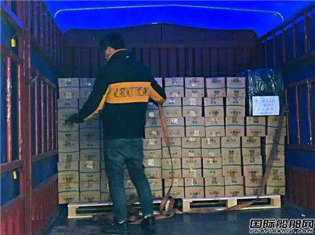 驰援武汉!上海领海挪华捐赠可供18000名医生食用压缩饼干