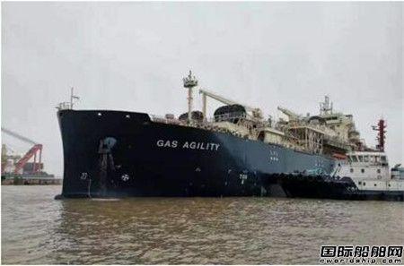 沪东中华l两型船同日进坞
