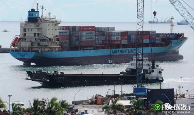 马士基旗下一艘船疑似船员染病被勒令外海抛锚