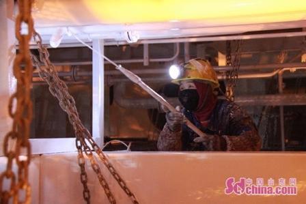 青岛造船厂获准首批复工确保订单按时交付