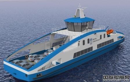 Brevik Fergeselskap订造1艘电动车客渡船