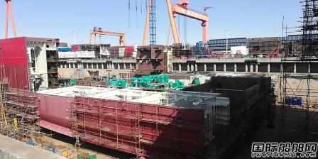 振华重工JSD6000深水起重铺管船项目有序复工