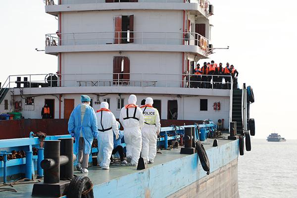 长江上海段首艘有确诊病例船舶解除隔离