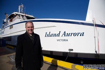 BC Ferries接收2艘新建柴电混合动力渡船