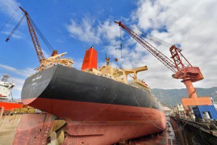 福建华东船厂复工修船业逆势上扬