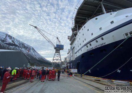 VARD交付Island Offshore最新海上安装船